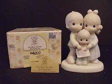 "PRECIOUS MOMENTS ""GOD BLESS THE DAY WE FOUND YOU-SON"" -  #100153R - NEW IN BOX"