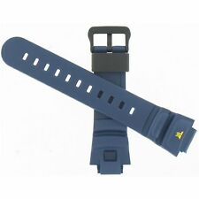 Genuine Factory Casio 25/16mm Navy Blue Resin Replacement Watch Band 10022853