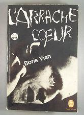 BORIS VIAN / L'ARRACHE COEUR / LE LIVRE DE POCHE