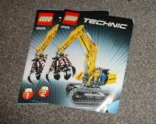 LEGO BUILDING INSTRUCTION Technic 42006 Digger  No PARTS manual only