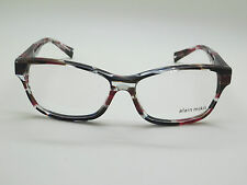 NEW Authentic ALAIN MIKLI A0 3023 B0H7 Pink/Blue/Clear 55mm RX Eyeglasses