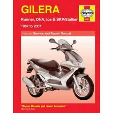 Gilera Runner/DNA/Stalker/Ice 1997-2007 Repair Haynes Owners Workshop Manual