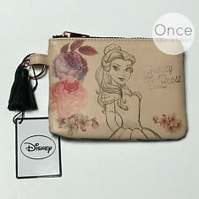DISNEY BELLE BEAUTY AND THE BEAST Zip Pochette Purse from Primark