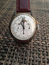 Universal Geneve Tri Compax Chronograph Triple Date Moon Phase 1940 Vintage