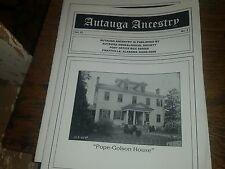 "Autauga Ancestry Vol. 22 No. 2 ""Pope-Golson House"""