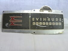 EVINRUDE SELECTRIC CONTROL BOX SIDE PLATE COVER 278356 205052 BOAT JOHNSON OMC
