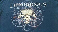 DEMIRICOUS T-SHIRT Black Adult Medium THRASH METAL Slayer Sepultura Metallica