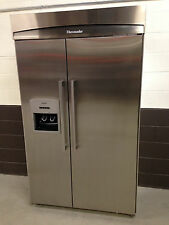 "Thermador 48"" KBUDT4855E01 Refrigerator Freezer Side by Side Stainless Build In"