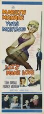 Lets Make Love Insert Movie Poster 14x36 Replica