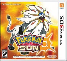 PRE-SALE Pokemon Sun - Nintendo 3DS Moon Edition ORDER NOW