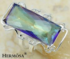 75% Off Hermosa Love Rainbow Fire Alexandrite Sterling Silver Ring sz 8