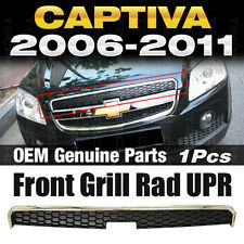 OEM Genuine Parts Front Grill Rad UPR Chrome 1Pcs For Chevy 2006-2011 Captiva