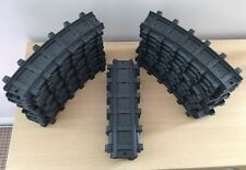 Vintage 1997 Playmobil x25 Train Track Pieces Straights + Curves 4017 G-Scale