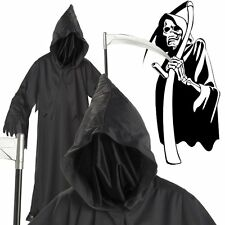 Scary Grim Reaper Child Kids Boys Halloween Fancy Party Costume One Size Yr 3-9