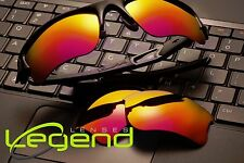 A41 Fuchsia/Gold Mirror POLARIZED Replacement Lenses For Oakley FLAK JACKET XLJ