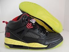 NIKE AIR JORDAN SPIZIKE iD BLACK-RED-VOLT SZ 9 [605236-996]