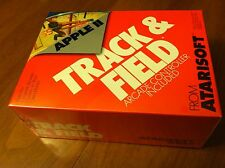 Track & Field with controller Atarisoft 1984 arcade game Apple II+,IIe,IIc,IIgs