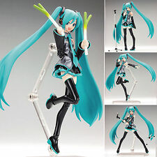 Hatsune Miku 1/8 Scale Figurine Mini PVC Manga Dolls Action Figure 15cm/6""