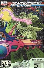 TRANSFORMERS VS GI JOE 1 NYCC NEW YORK SDCC SAN DIEGO COMIC CON COLOR VARIANT