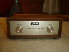 Olson RA-844, Solid State Reverberation Amplifier, Spring Reverb, Vintage Unit