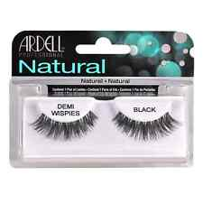4 Pack Ardell InvisiBrand Eye Lash Demi Wispies Black