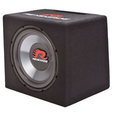 "Renegade RXV1200 Car Stereo 12"" Loaded Subwoofer Enclosure Box RXV-1200 New"