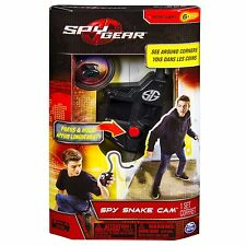 SPY GEAR SPY SNAKE CAM BLACK NEW SEE AROUND CORNERS