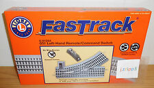 LIONEL FASTRACK 6-81254 REMOTE 0-31 LEFT HAND SWITCH TRACK O GAUGE TRAIN COMMAND