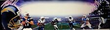 """FREE """"SPORTS"""" """" SAN DIEGO CHARGERS"""", ART/POSTER /BANNER/PICTURE  30X8.5"""""""
