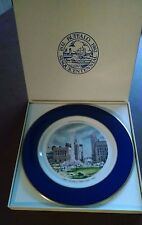 BUFFALO NY China SESQUICENTENNIAL Commemorative Collector Plate Niagara Square