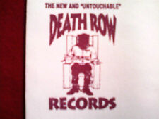 DEATH ROW RECORDS JUMBO ENVELOPE VINTAGE SUGE KNIGHT TUPAC 2PAC RARE THA ROW