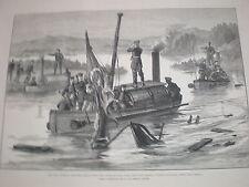 Rusia Turquía guerra turco Gun-barco disposiciòn Djelil ganaron en Braila Rumania 1877