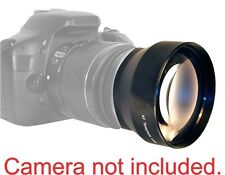 58M 3.6X Telephoto Zoom Lens for Canon Rebel EOS XT XS T1 T2 T3 7D 6D T6 T6S T4
