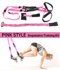 SUSPENSION TRAINER STRAPS KIT-BODY WEIGHT GYM TRAINING MMA WORKOUT CROSSFIT XTR