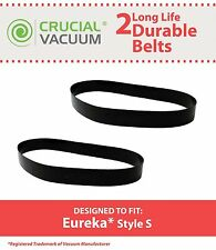 2 Eureka Durable Style S Belt Fits Eureka AS1100 Series Upright Vacuums # 84756