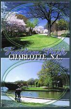 Postcard North Carolina Charlotte Freedom Park Unused MINT