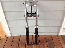 Harley Davidson Front Fork Assembly (FXE) 35mm Tubes with Chrome Caps  #1421