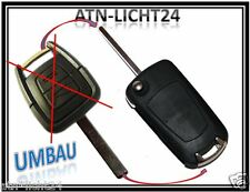 Transformación kit plegable clave Opel Vectra Astra Zafira Signum rohling typd 82 car Key