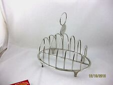 Antique Solid Silver 6 PIECE GEORGIAN TOAST RACK  Hallmarked LONDON 1807