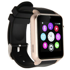 GT88 Smart Bluetooth IP57 Watch Heart Rate Monitor Camera for Android IOS Golden