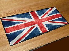 Union Jack grunge flag bar runner Pubs Clubs & Cocktail Bars Counter Mat