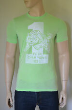 NEW Abercrombie & Fitch Beckhorn Trail Green Vintage 1957 Tigers Tee T-Shirt L
