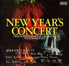 SXL 6692 NB BOSKOVSKY new year's concert uk decca 1974 LP PS VG/EX