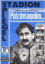 II. BL  83/84  MSV Duisburg - Karlsruher SC, 29.01.1984