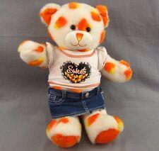 """Candy Corn Build-A-Bear Plush Doll 16"""" Halloween Stuffed Animal Teddy Clothes"""