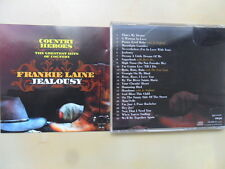 Frankie Laine/Jealousy Country Heroes 25 Track/CD