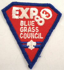 Uniform Patch Boy Scout Bsa Expo 83 Blue Grass Council  #Bsbl