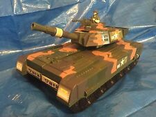 "Motor Max Toy Tank 14"" Transforming Playset Military Army 76703 Action Figure **"