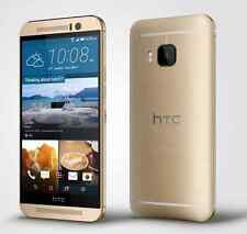 Amber Gold 5'' Unlocked HTC One M9 32GB (AT&T) 20MP Android OS 4G LTE Smartphone