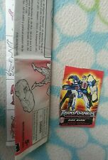 Transformers RID SIDEBURN INSTRUCTION BOOKLET & TECH SPEC